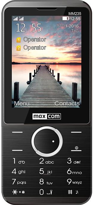 6a956b3d2e3987 MAXCOM Classic MM235 - CLASSIC - Telefony komórkowe z tradycyjną ...